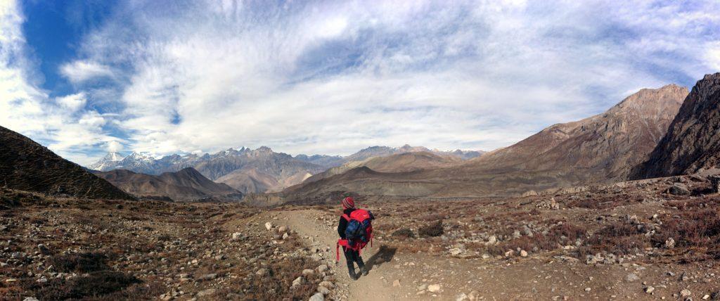 proseguiamo lungo il sentiero, direzione Muktinath