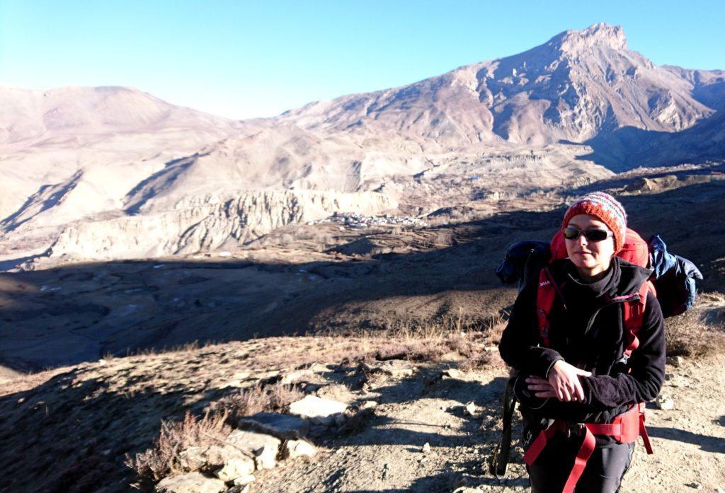 La valli brulle e arse del Lower Mustang