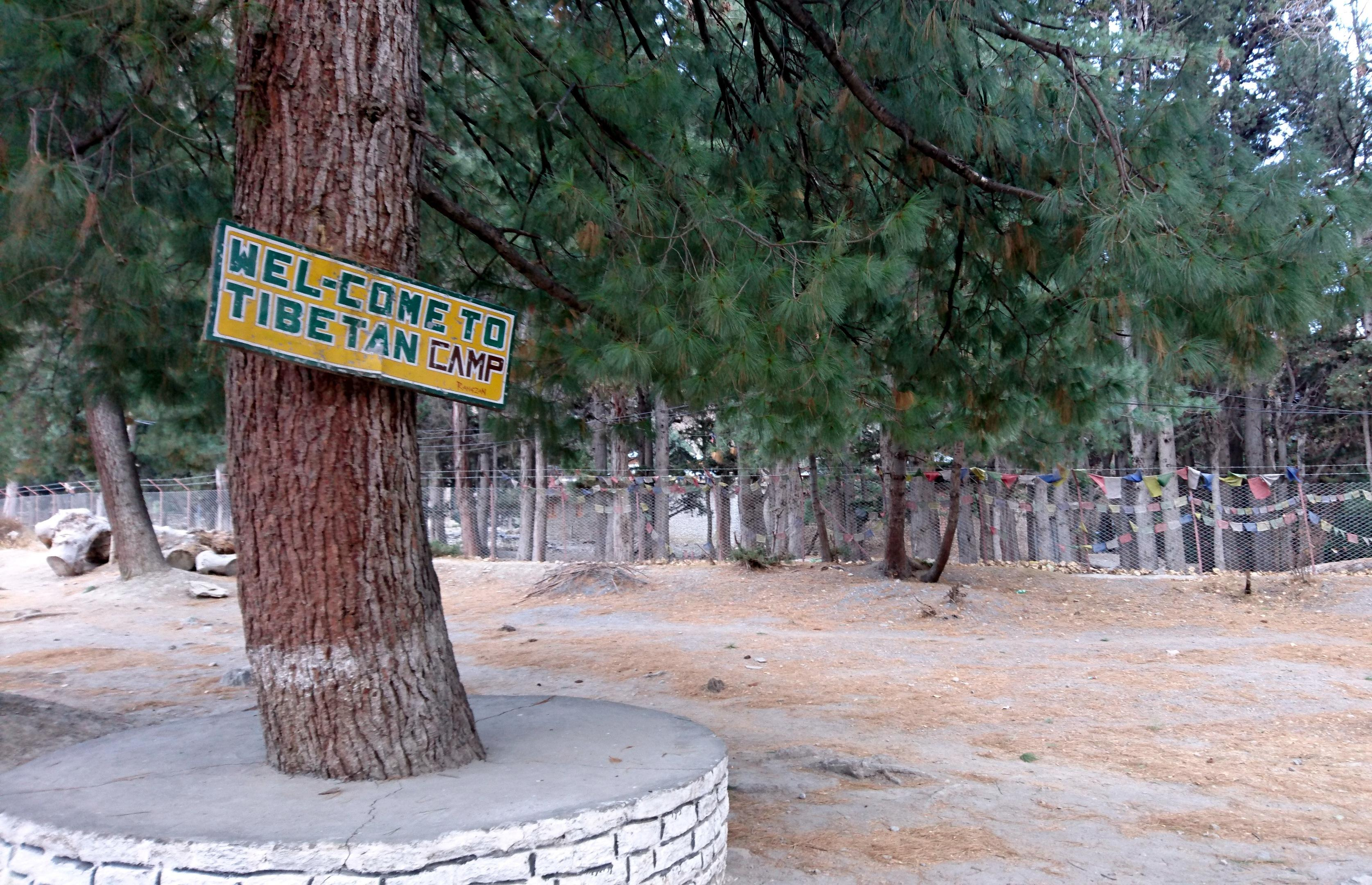 Tibetan Refugee Camp vicino a Marpha