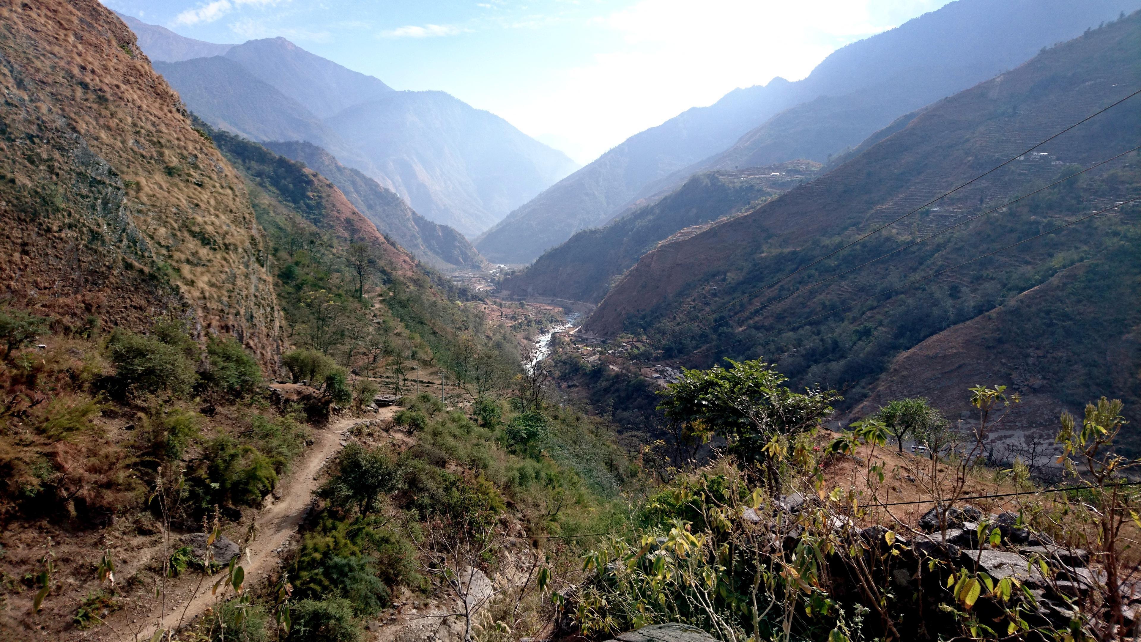 la valle del Kali Gandaki