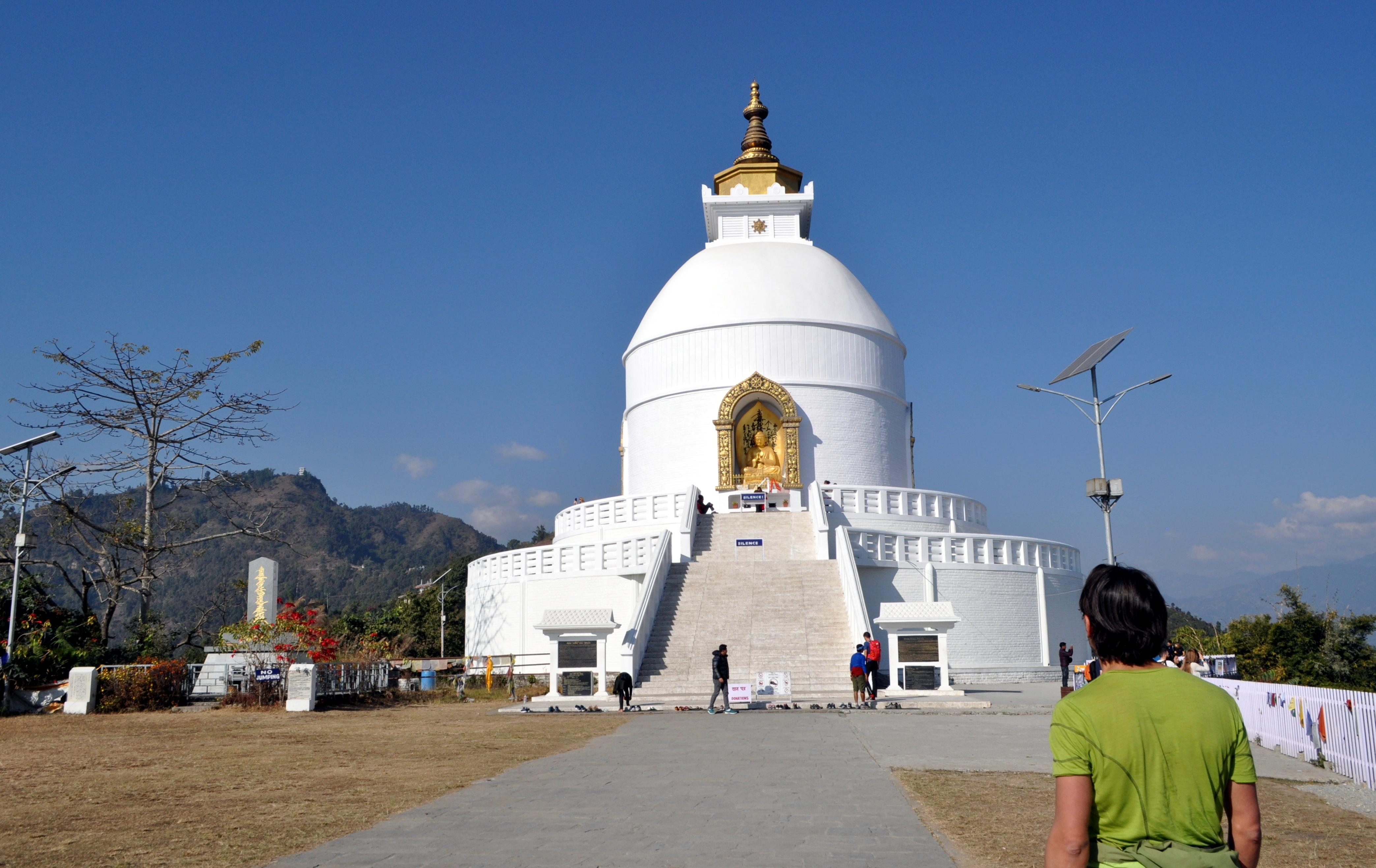 Shanti Stupa (Peace Pagoda)