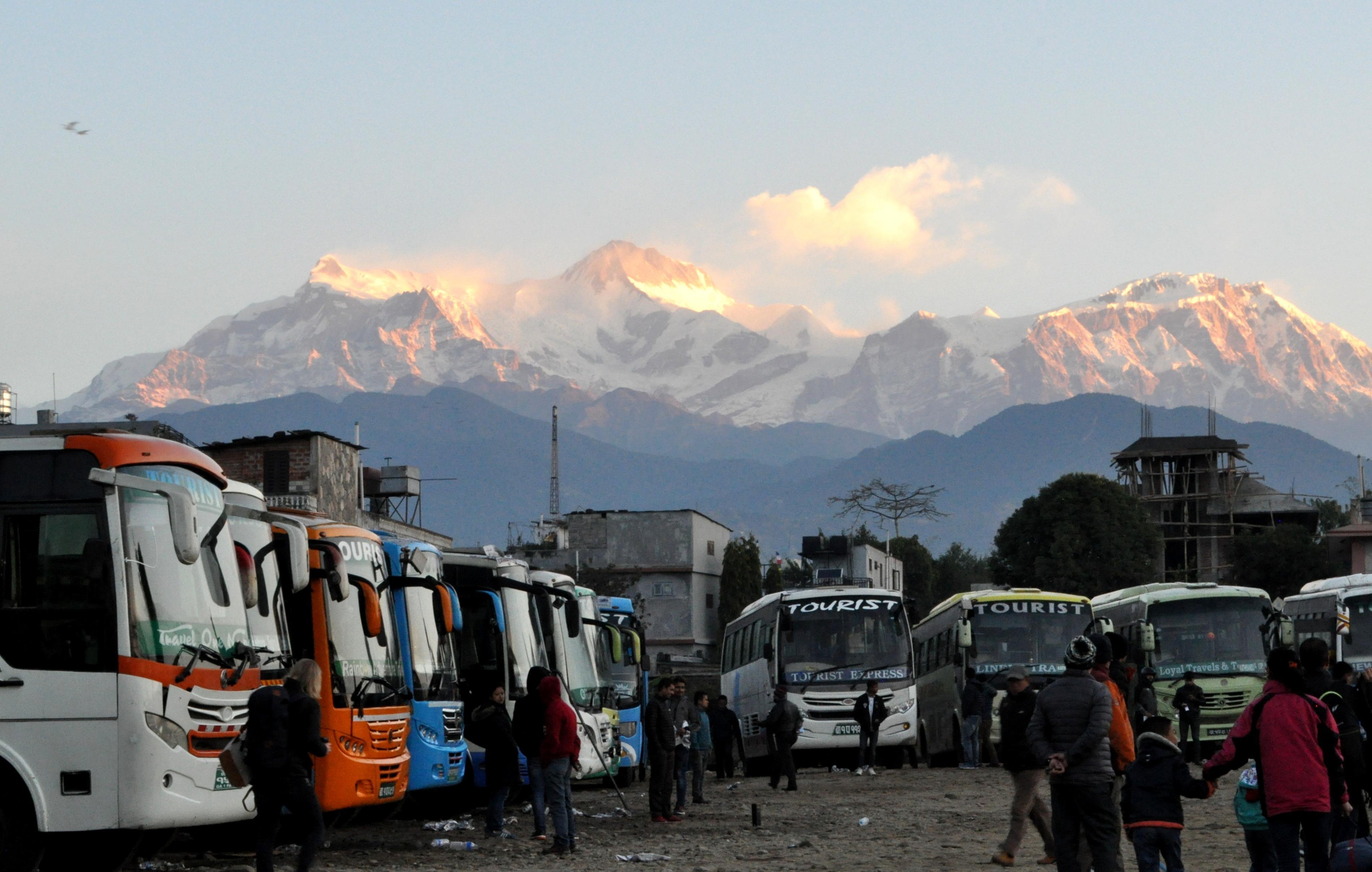 Namastè Pokhara: noi torniamo verso Kathmandù