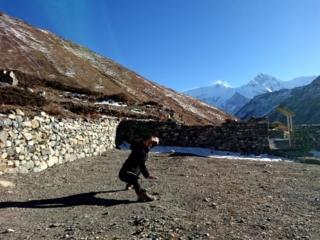 kung-fu a 4200 metri e con l'Annapurna II sullo sfondo: tutta un'altra storia