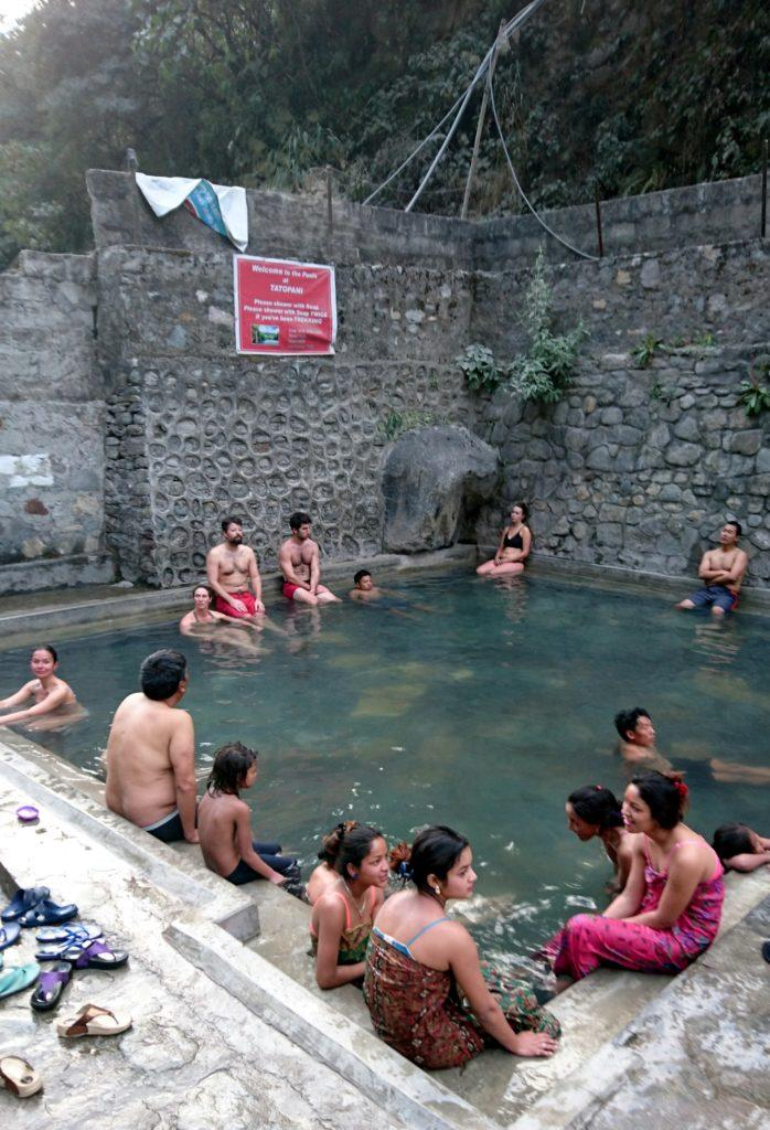 hot springs a Kalopani