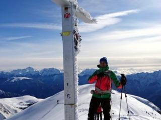 il Galletto con la croce della cima Piazzotti