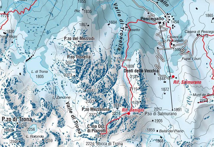 Mappa del percorso tratta dal sito www.valgerolaonline.it