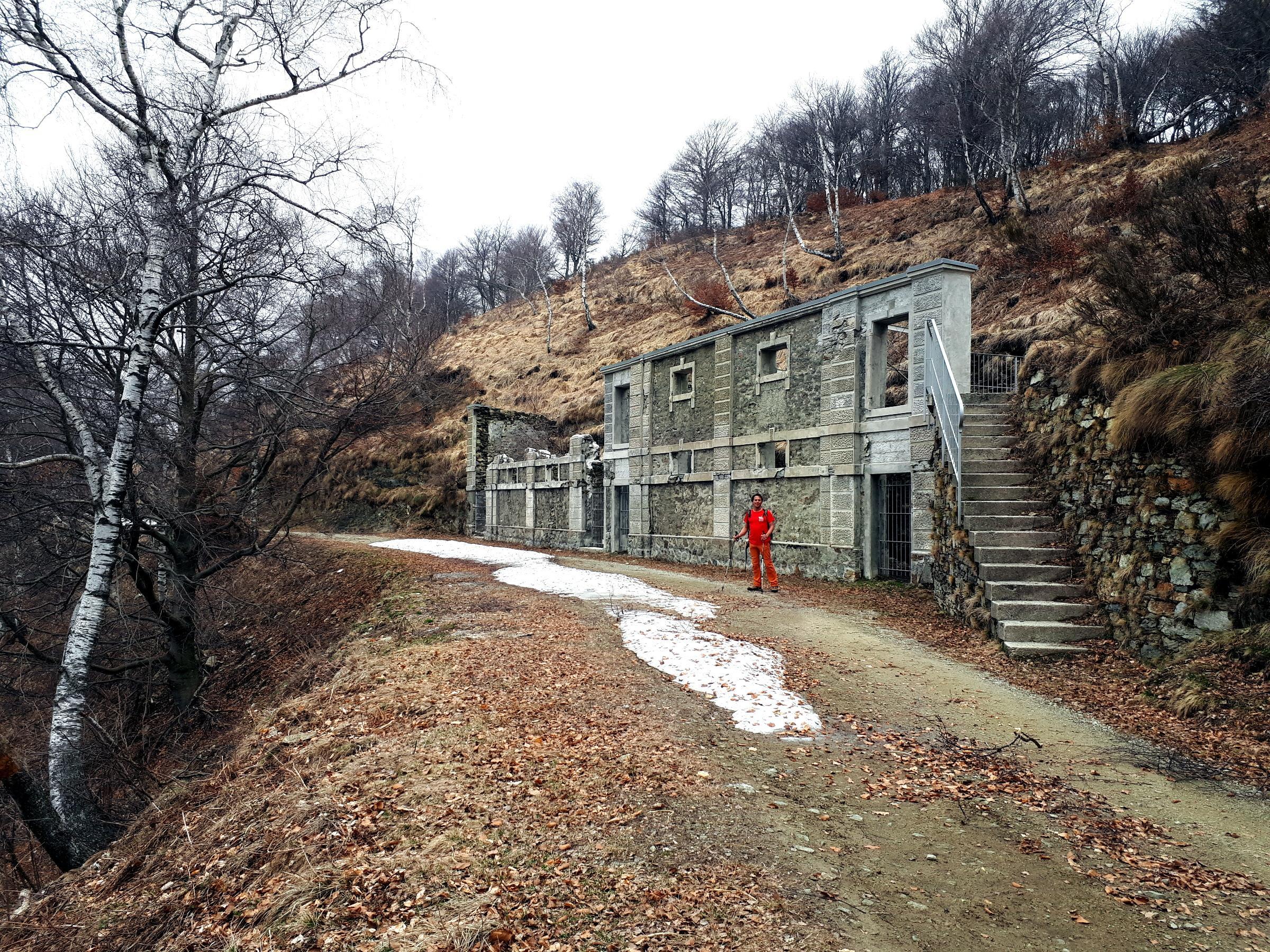 resti militari lungo la Linea Cadorna