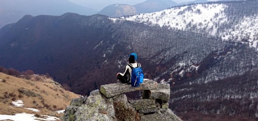 Ritorno in Valgrande… con troppa neve! Pian Vadà lungo la Linea Cadorna