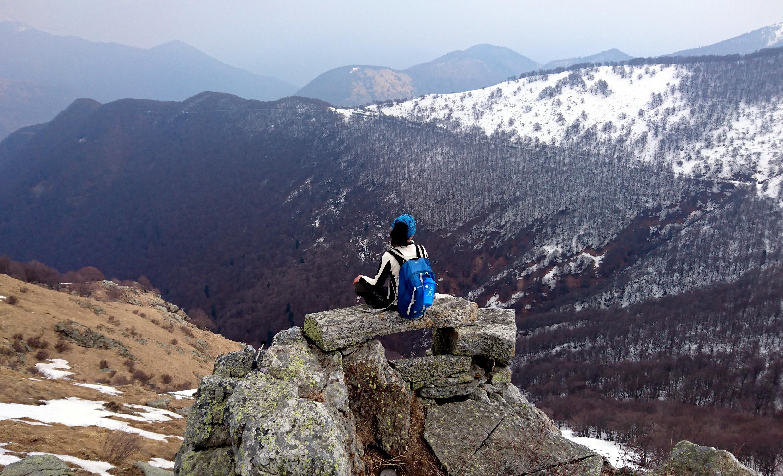 uno sguardo verso l'interno della Val Grande