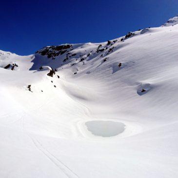 Passo di Campagneda e ghiacciaio del Pizzo Scalino – Scialpinismo