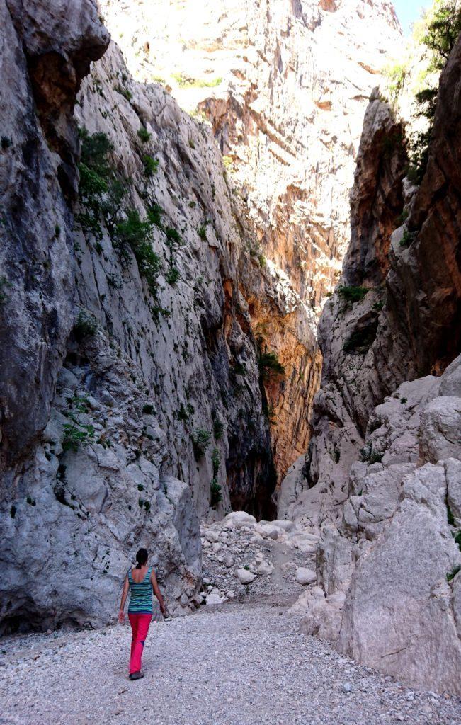 ci addentriamo nel Canyon Gorropu