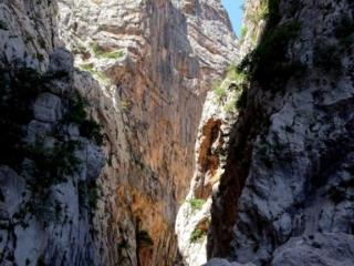 ultima foto del Canyon Gorropu prima di riprendere il sentiero di risalita verso Genna Silana