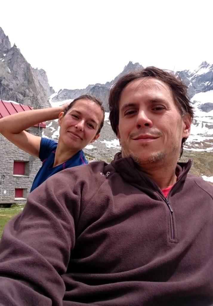 selfie di vetta (niente, non impareremo mai a farceli decentemente!)