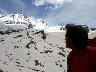 Osservando il versante Nord del Gran Paradiso...