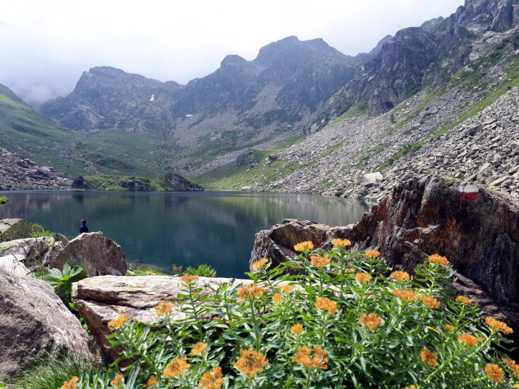 Dopo pochi minuti di cammino si raggiunge il lago Fiorenza
