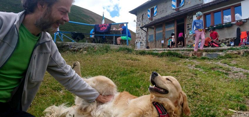 Monte Sodadura da Moggio e Rifugio Grassi dalla Val Biandino: a spasso con il cane