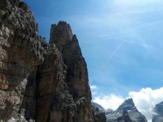 la cima del Castelletto