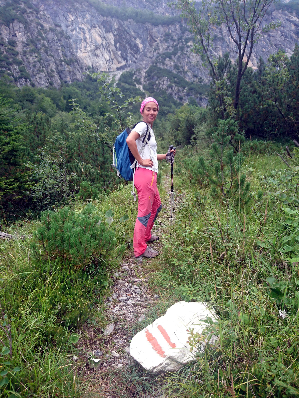 Erica guida il gruppo con spavalderia