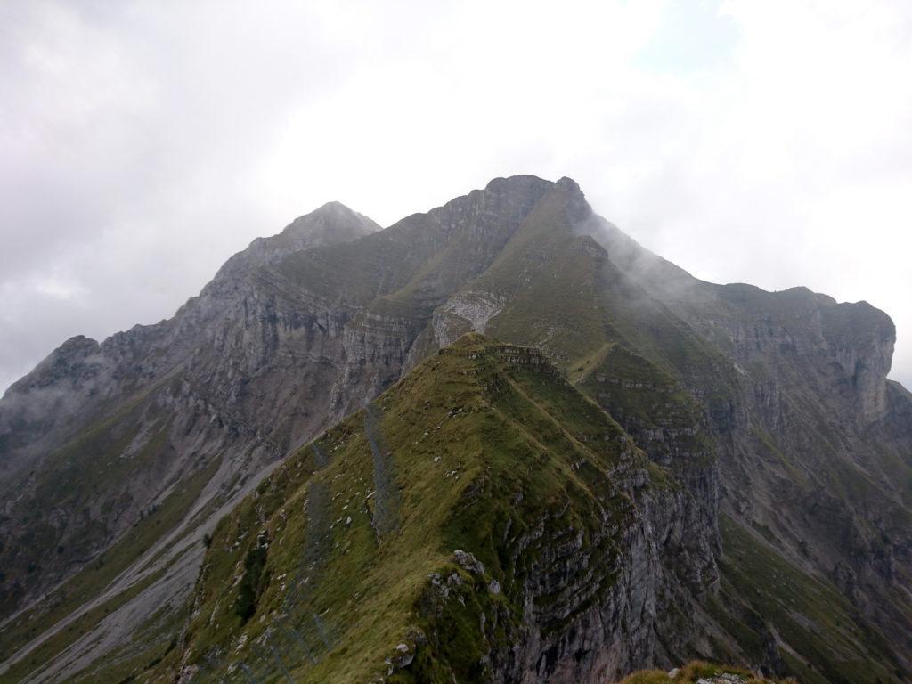 guardando indietro in direzione del Monte Secco