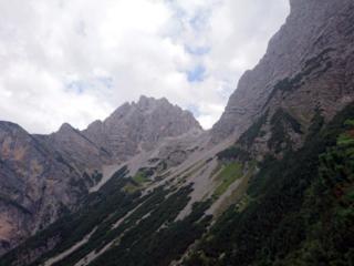 ultimo sguardo verso la nostra bella meta e poi si torna a valle!