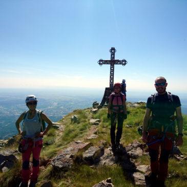 Ferrata del Limbo al Monte Mucrone, Oropa: più ferrata di così non si può!