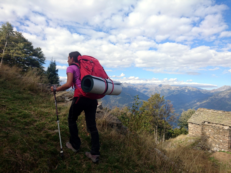 si riparte nuovamente in salita verso l'Alpe Nava