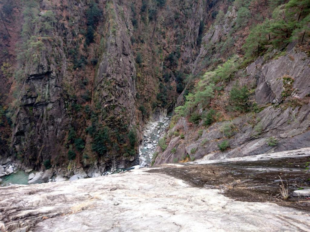il torrente Boggia, che in questo punto crea un ...orrido bellissimo!