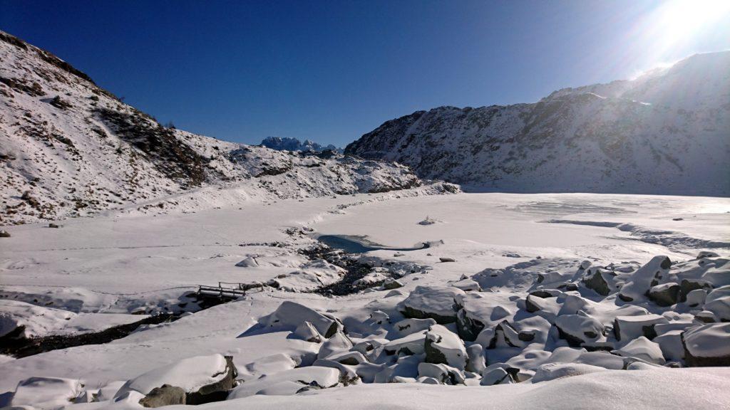 il lago superiore di Cornisello
