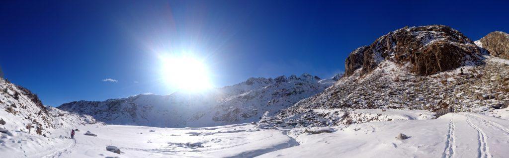panorama 360° sul lago di Cornisello