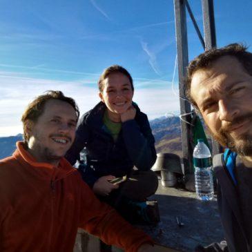 Monte Venturosa con vista su tutte le Orobie …e oltre!