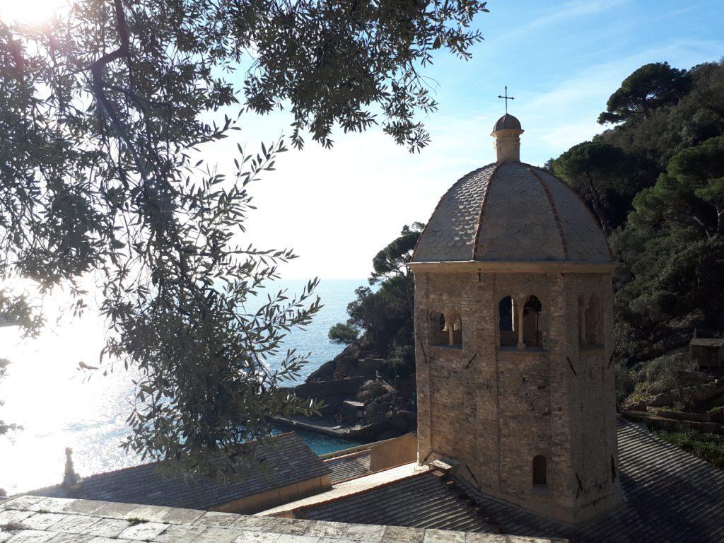la cupola della chiesa di San Fruttuoso