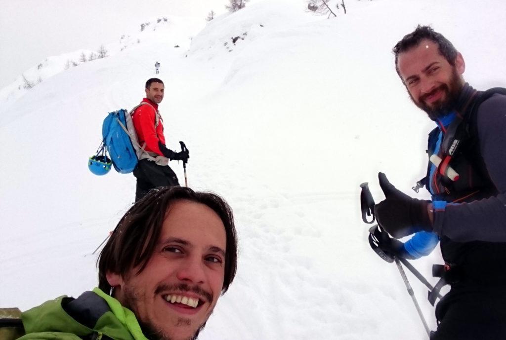 Selfie con la cricca storica