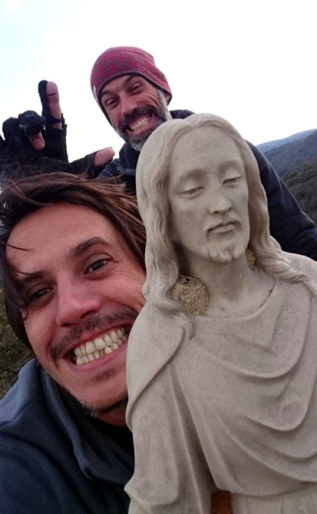 Altro selfie di vetta!! e due!!