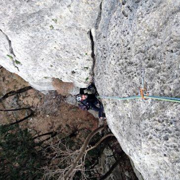 """Via """"il Gufo"""" e via """"la Torre"""" al Monte Cucco – Finale"""