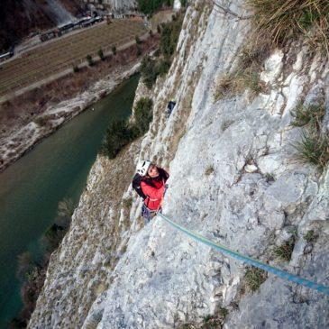 Via Orizzonti Dolomitici – Piccolo Dain – Parete della Centrale