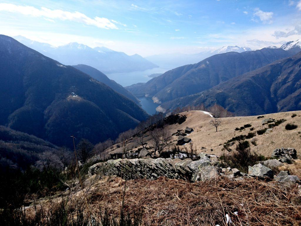 ancora un bel panorama verso valle