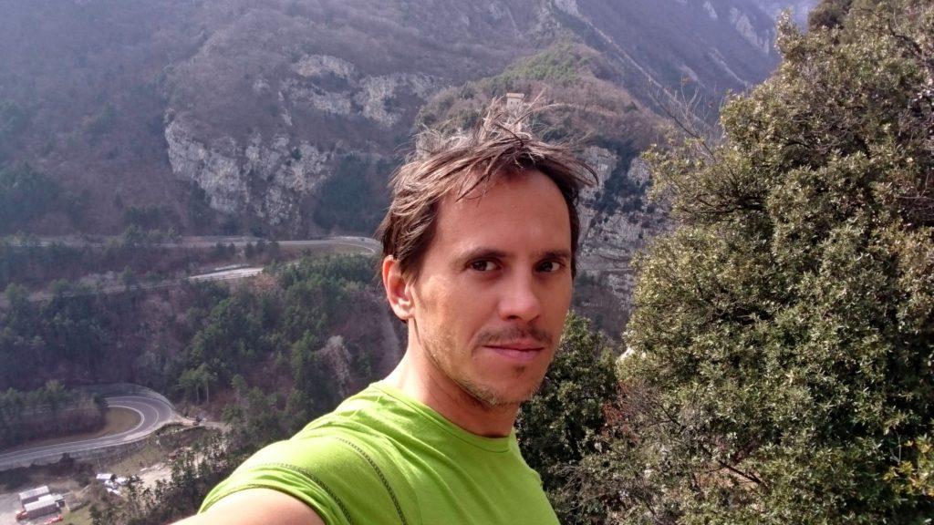 Selfie di vetta visto che non ci sono mai ;)