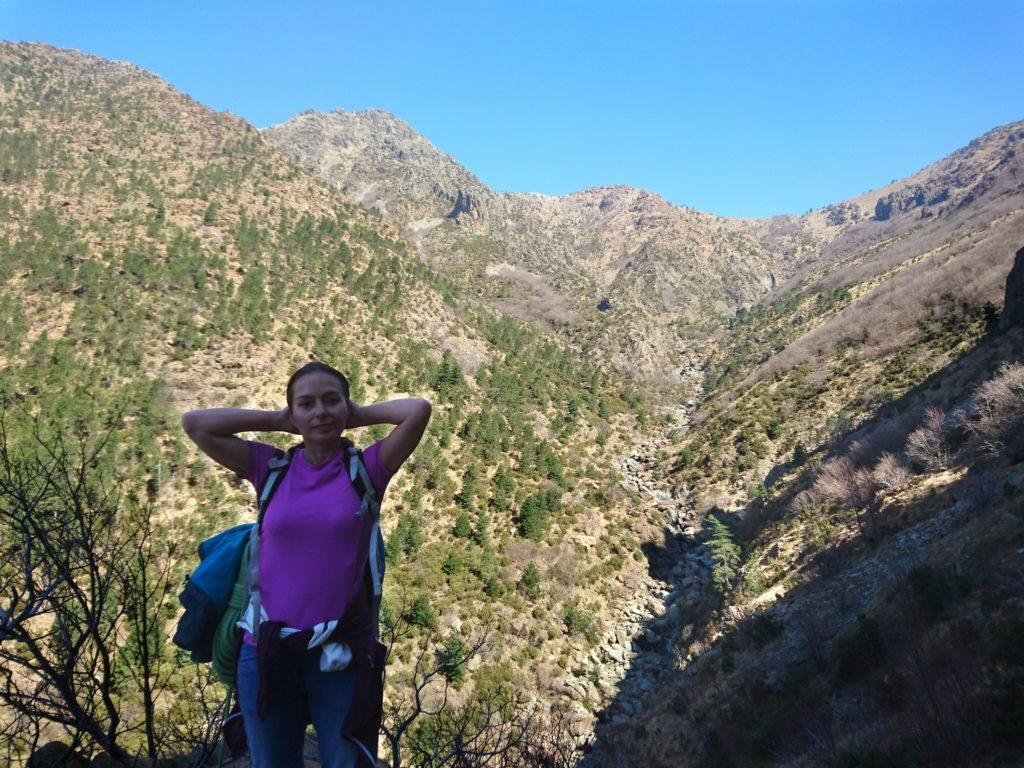 """la valle del Rio Baiardetta, molto """"alpina"""" e selvaggia"""