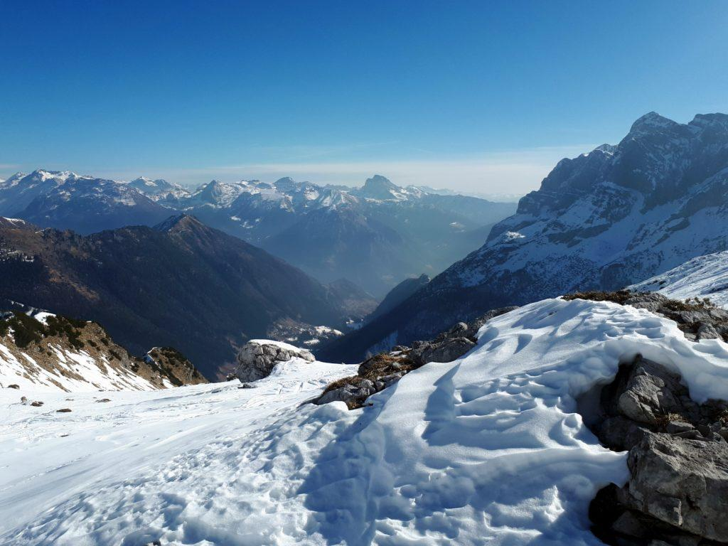 guardando verso Valcanale