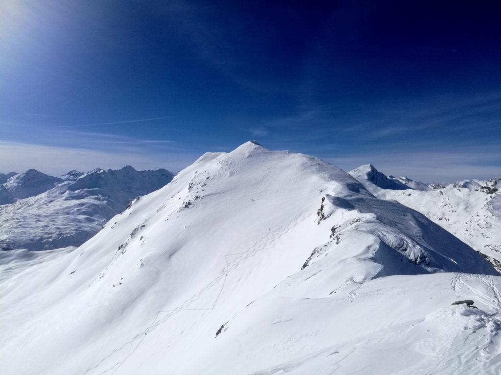 Vista dalla nostra cima verso il Valserhorn
