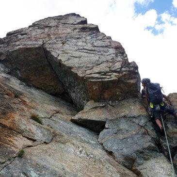 Via delle Placche al Bec Raty – arrampicata plaisir in ambiente magnifico