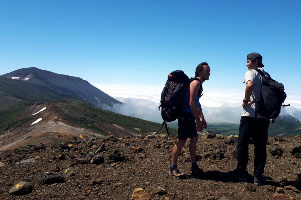 lungo il percorso incontriamo diversi trekkers con cui facciamo due chiacchiere (non ci sono molti occidentali da queste parti!)
