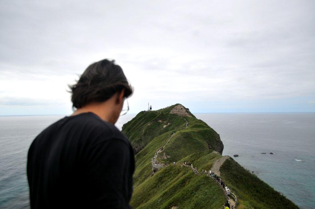 Cape Kamui, raggiungibile con un sentiero assai frequentato