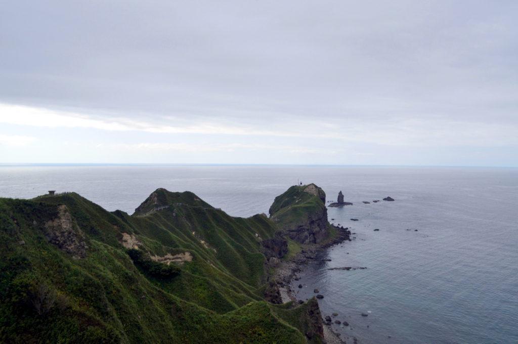 Cape Kamui con la leggendaria roccia in mezzo al mare