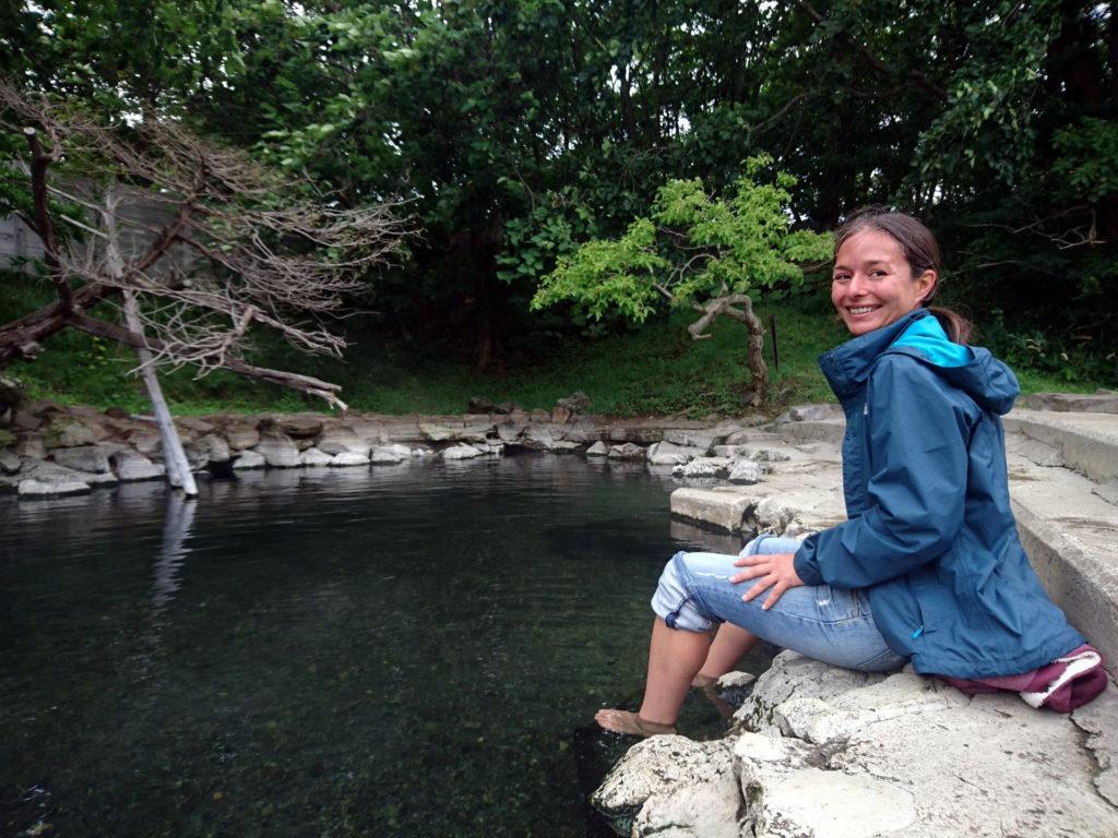 Wakoto Hot Spring: l'acqua è davvero bollente!