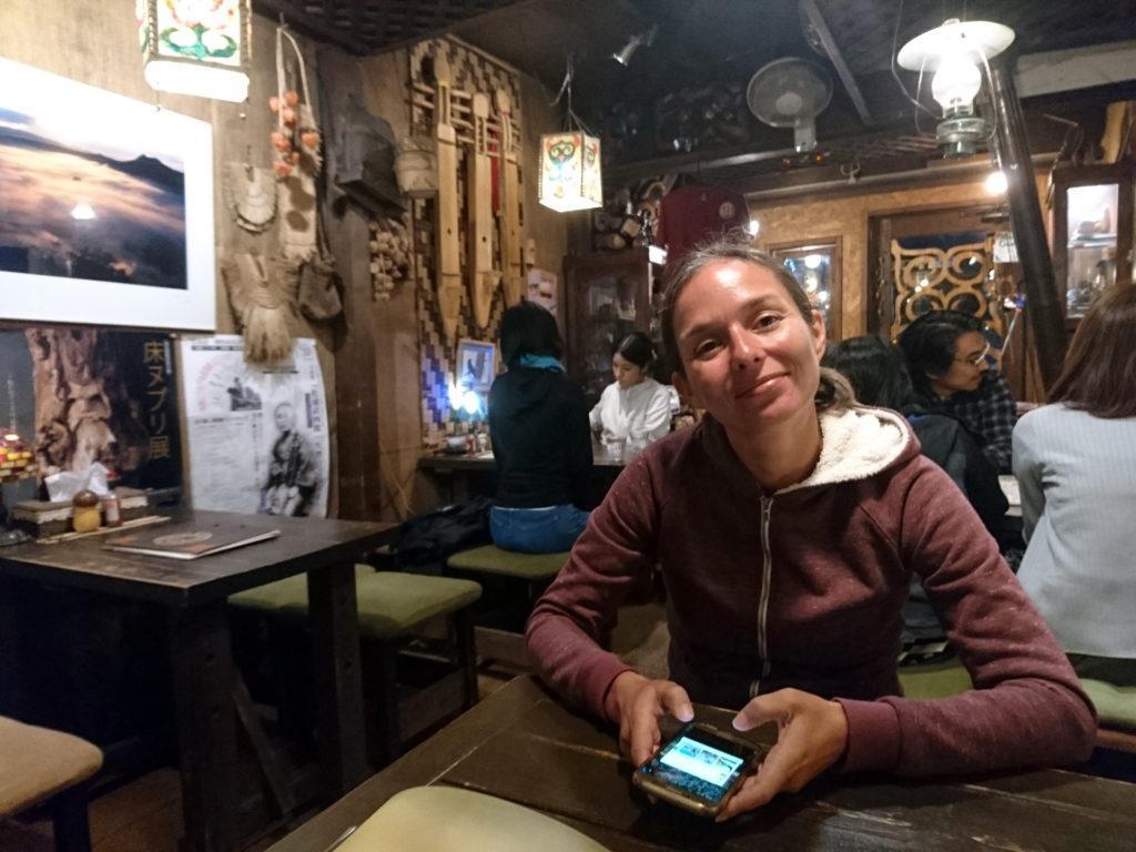 ristorante Ainu: atmosfera molto bella e noi pronti ad assaggiare la cucina giapponese... di prima che arrivassero i giapponesi!
