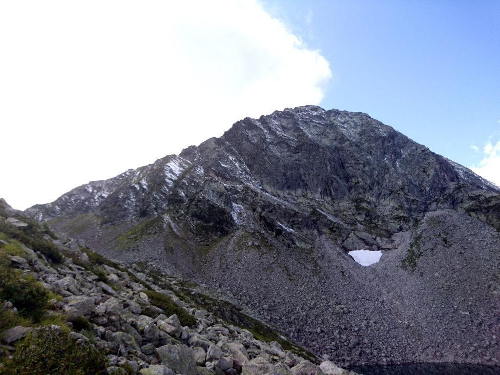 il Pizzo del Ton, versante nord