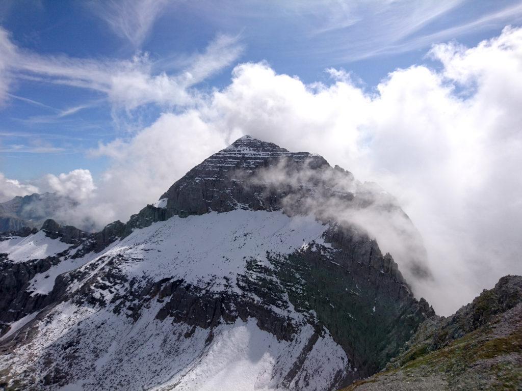 La cima della Pietra Grande vista dalla Vagliana