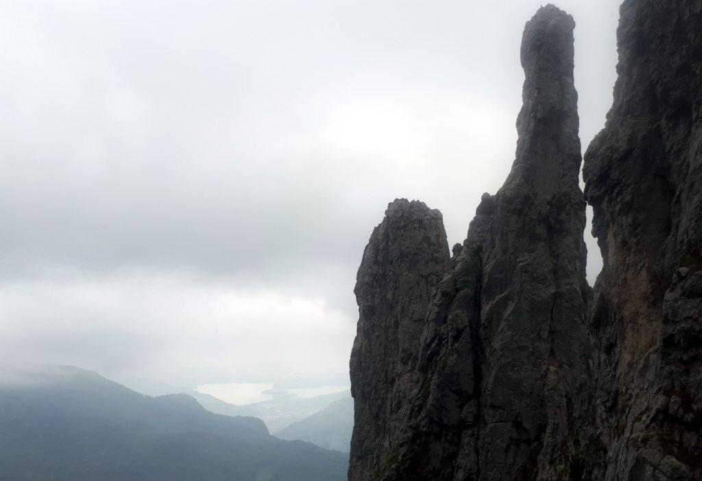 la verticalità del Campaniletto visto da nord