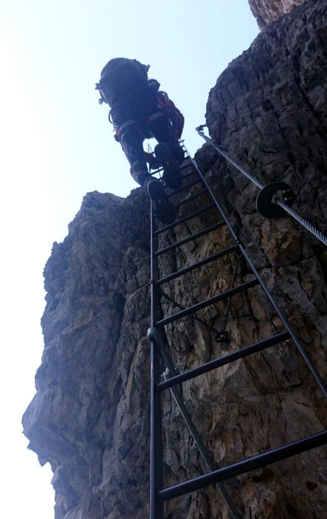 una delle scale della Sosat
